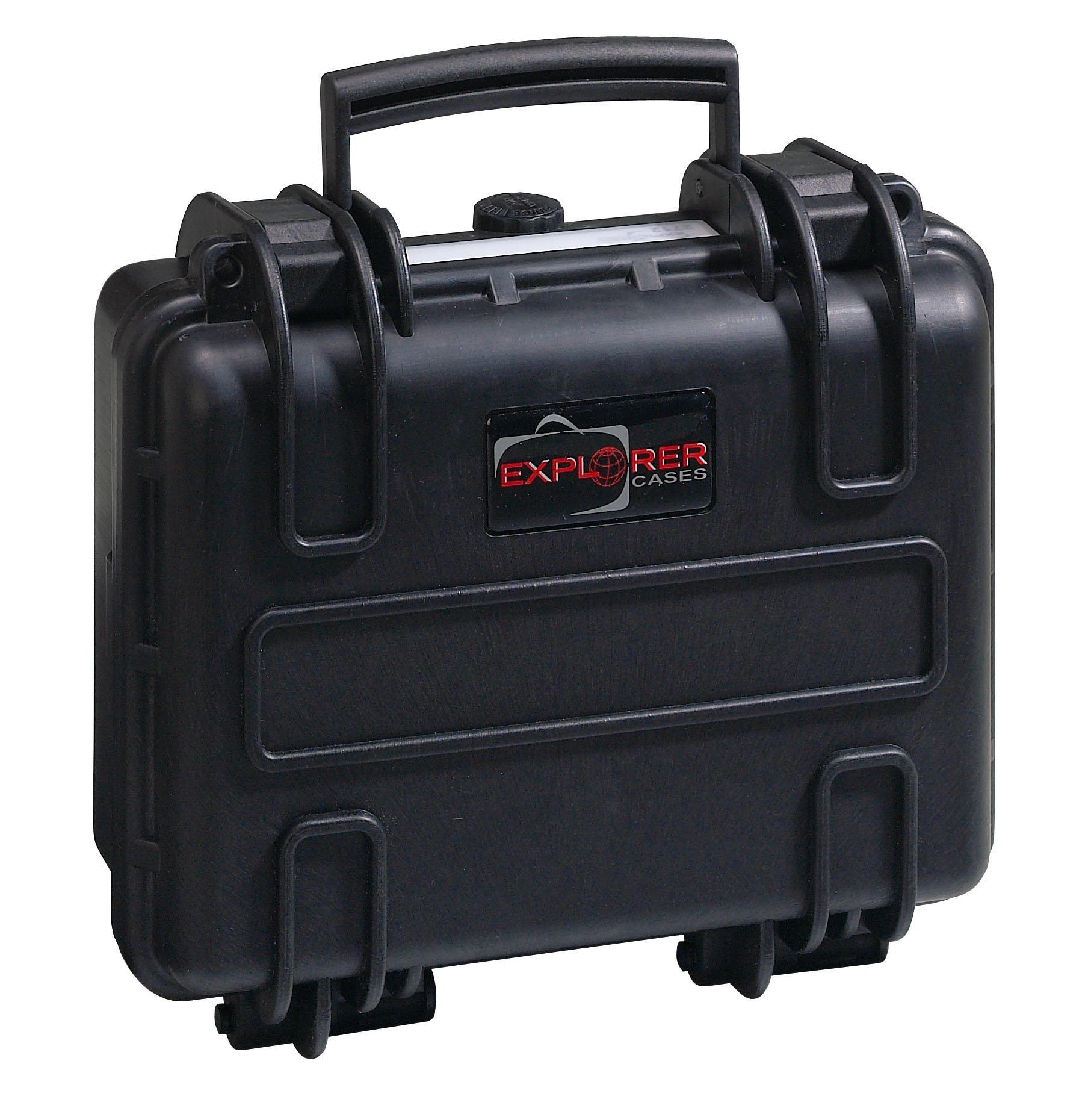 Explorer Koffer 2712 schwarz geschlossen