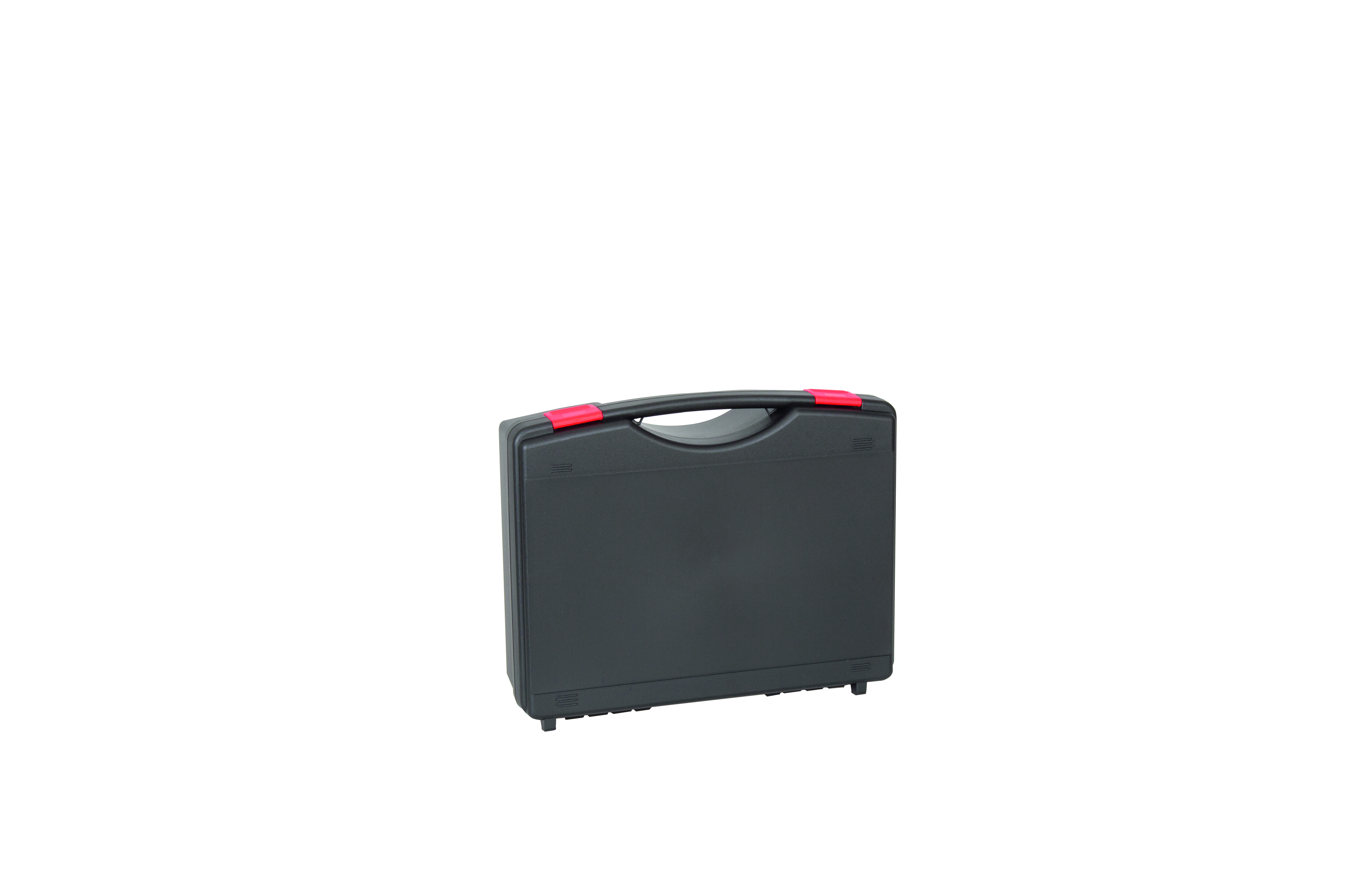 WAG Koffer TEKNO 2008S schwarz/rot geschlossen