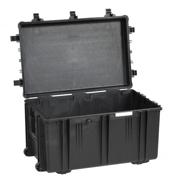 Explorer Koffer 7641 schwarz offen