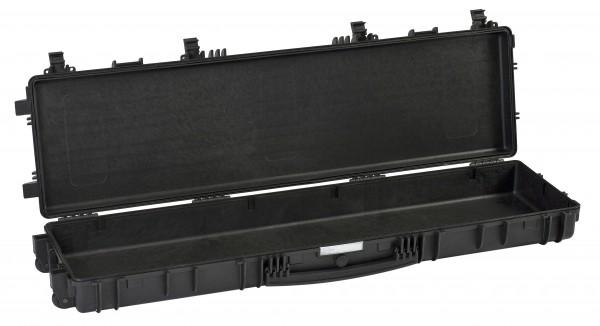 Explorer Koffer 13513 schwarz offen